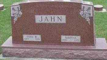 JAHN, MARTHA (MRS. FRED) - Sioux County, Iowa | MARTHA (MRS. FRED) JAHN