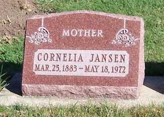 JANSEN, CORNELIA - Sioux County, Iowa | CORNELIA JANSEN