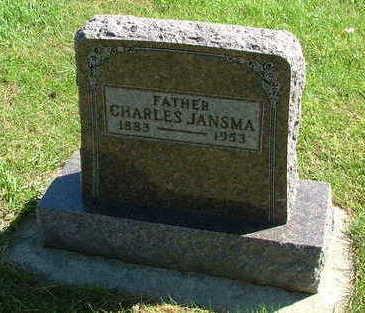 JANSMA, CHARLES - Sioux County, Iowa | CHARLES JANSMA
