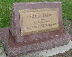 JANSMA, WALLY LORNE - Sioux County, Iowa | WALLY LORNE JANSMA