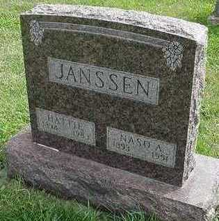 JANSSEN, HATTIE (MRS. NASO) - Sioux County, Iowa | HATTIE (MRS. NASO) JANSSEN