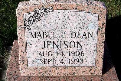 JENISON, MABEL L. - Sioux County, Iowa | MABEL L. JENISON