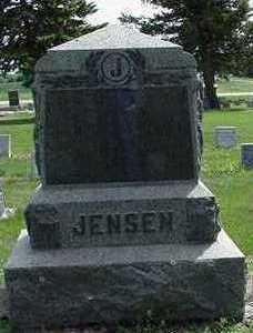 JENSEN, HEADSTONE - Sioux County, Iowa | HEADSTONE JENSEN
