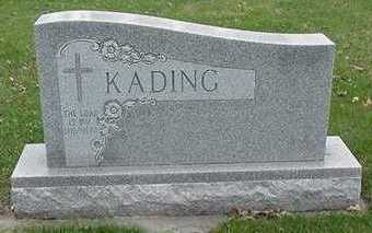 KADING, HEADSTONE - Sioux County, Iowa | HEADSTONE KADING