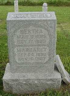 KAISER, BERTHA - Sioux County, Iowa | BERTHA KAISER