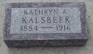 KALSBEEK, KATHRYN A. - Sioux County, Iowa | KATHRYN A. KALSBEEK