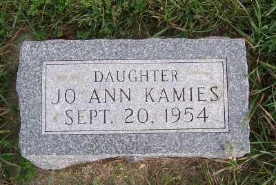 KAMIES, JOANN - Sioux County, Iowa | JOANN KAMIES