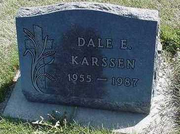 KARSSEN, DALE E. - Sioux County, Iowa | DALE E. KARSSEN