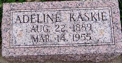 KASKIE, ADELINE - Sioux County, Iowa | ADELINE KASKIE