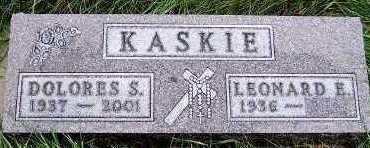 KASKIE, DOLORES S. - Sioux County, Iowa | DOLORES S. KASKIE