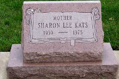 KATS, SHARON LEE - Sioux County, Iowa | SHARON LEE KATS