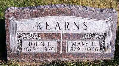 KEARNS, MARY E. - Sioux County, Iowa | MARY E. KEARNS