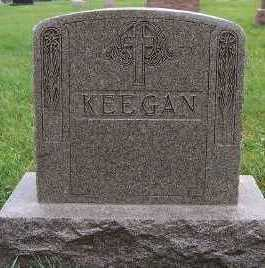 KEEGAN, HEADSTONE - Sioux County, Iowa | HEADSTONE KEEGAN