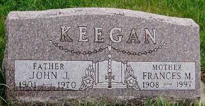 KEEGAN, JOHN J. - Sioux County, Iowa | JOHN J. KEEGAN