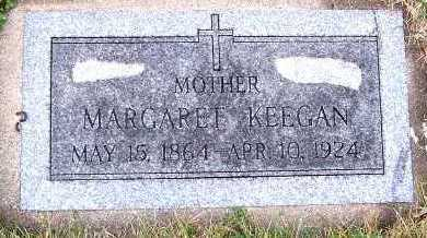 KEEGAN, MARGARET - Sioux County, Iowa | MARGARET KEEGAN