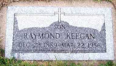 KEEGAN, RAYMOND - Sioux County, Iowa | RAYMOND KEEGAN