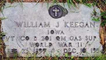 KEEGAN, WILLIAM J. - Sioux County, Iowa | WILLIAM J. KEEGAN