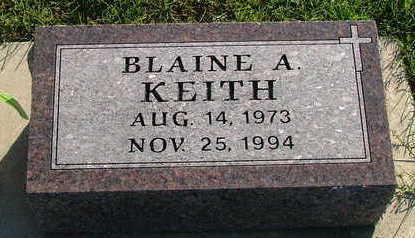 KEITH, BLAINE A. - Sioux County, Iowa | BLAINE A. KEITH