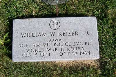 KEIZER, WILLIAM JR. - Sioux County, Iowa | WILLIAM JR. KEIZER