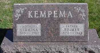 KEMPEMA, HERMINA (MRS. REIMER) - Sioux County, Iowa | HERMINA (MRS. REIMER) KEMPEMA