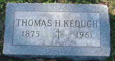 KEOUGH, THOMAS H. - Sioux County, Iowa | THOMAS H. KEOUGH