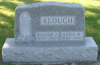 KEOUGH, ANNA M. (MRS. WILLILAM J.) - Sioux County, Iowa | ANNA M. (MRS. WILLILAM J.) KEOUGH