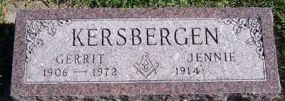 KERSBERGEN, GERRIT - Sioux County, Iowa | GERRIT KERSBERGEN