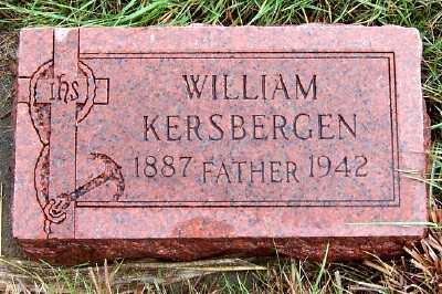 KERSBERGEN, WILLIAM - Sioux County, Iowa | WILLIAM KERSBERGEN