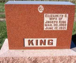 KING, ELIZABETH S. (MRS. JOSEPH) - Sioux County, Iowa | ELIZABETH S. (MRS. JOSEPH) KING