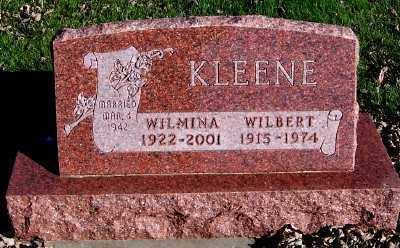 KLEENE, WILMINA - Sioux County, Iowa | WILMINA KLEENE
