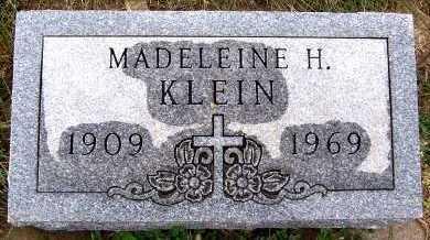 KLEIN, MADELINE H. - Sioux County, Iowa | MADELINE H. KLEIN