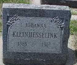 KLEINHESSELINK, JOHANNA - Sioux County, Iowa | JOHANNA KLEINHESSELINK