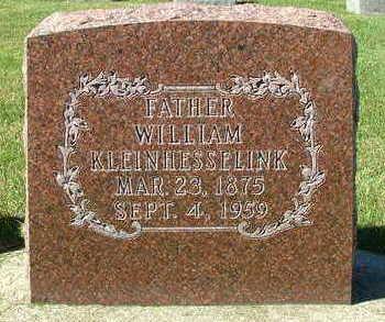 KLEINHESSELINK, WILLIAM - Sioux County, Iowa | WILLIAM KLEINHESSELINK