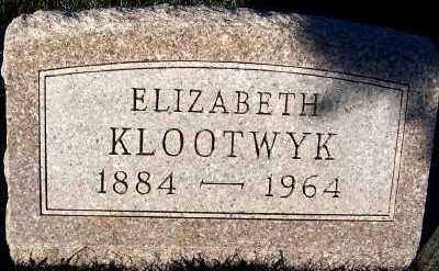 KLOOTWYK, ELIZABETH - Sioux County, Iowa | ELIZABETH KLOOTWYK