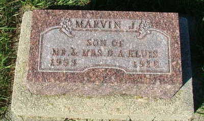 KLUIS, MARVIN J. - Sioux County, Iowa | MARVIN J. KLUIS
