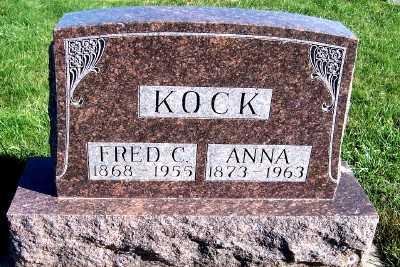 KOCK, ANNA - Sioux County, Iowa | ANNA KOCK