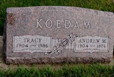 KOEDAM, TRACY - Sioux County, Iowa | TRACY KOEDAM