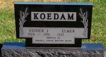 KOEDAM, ESTHER J. - Sioux County, Iowa | ESTHER J. KOEDAM