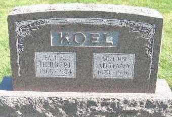 KOEL, HERBERT (1866-1954) - Sioux County, Iowa | HERBERT (1866-1954) KOEL