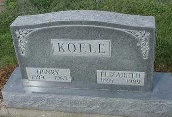 KOELE, ELIZABETH - Sioux County, Iowa | ELIZABETH KOELE
