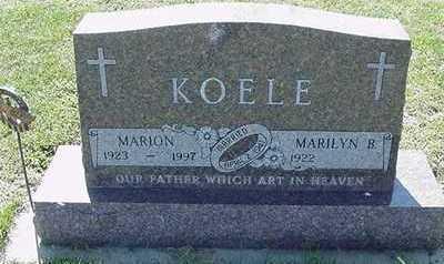 KOELE, MARION - Sioux County, Iowa | MARION KOELE