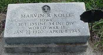 KOELE, MARVIN R. - Sioux County, Iowa | MARVIN R. KOELE