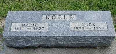 KOELE, NICK - Sioux County, Iowa | NICK KOELE
