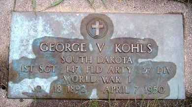 KOHLS, GEORGE V. - Sioux County, Iowa | GEORGE V. KOHLS