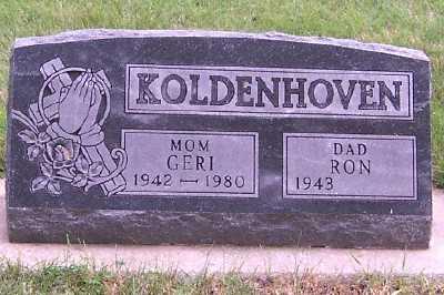 KOLDENHOVEN, GERI - Sioux County, Iowa | GERI KOLDENHOVEN