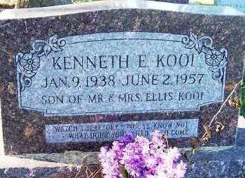 KOOI, KENNETH E. - Sioux County, Iowa | KENNETH E. KOOI