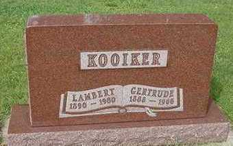 KOOIKER, GERTRUDE - Sioux County, Iowa | GERTRUDE KOOIKER