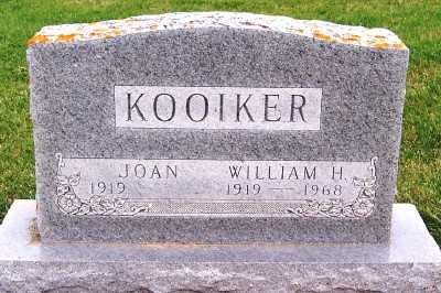 KOOIKER, WILLIAM H. - Sioux County, Iowa | WILLIAM H. KOOIKER