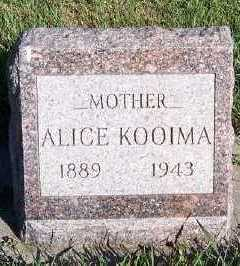 KOOIMA, ALICE - Sioux County, Iowa | ALICE KOOIMA