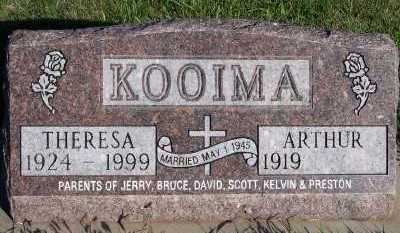 KOOIMA, THERESA - Sioux County, Iowa | THERESA KOOIMA